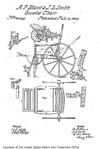 "The Dated Patent for an ""Invalid Chair"""