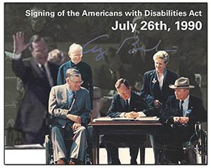 The 1990 Signing of ADA